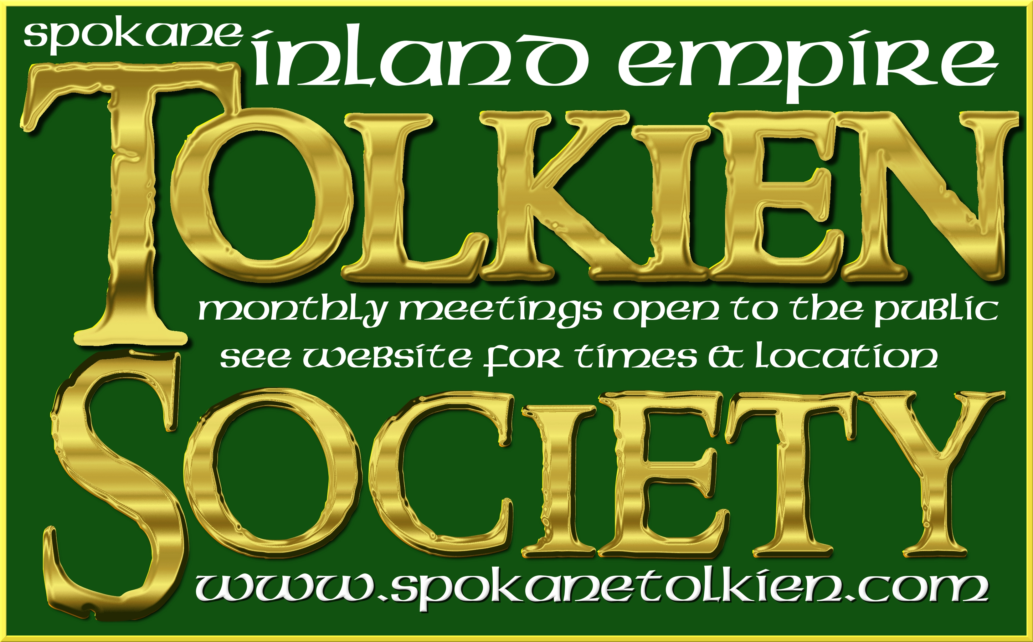 Reminder: Eä Tolkien Society Meeting November 19, 2016, 1 pm Pacific Time