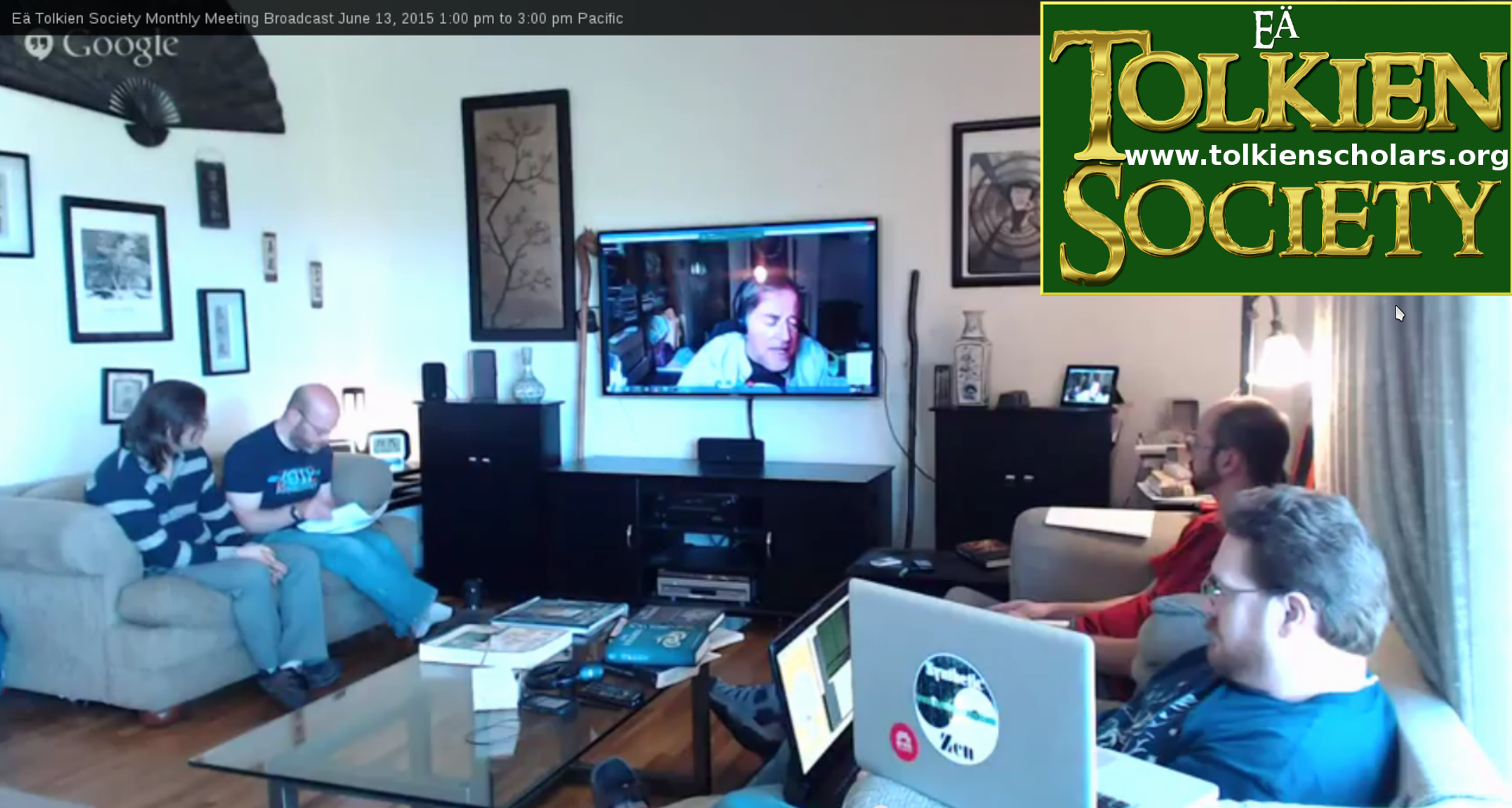 Eä Tolkien Society Monthly Meeting Notes, April 2016